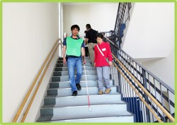 階段の昇り降り